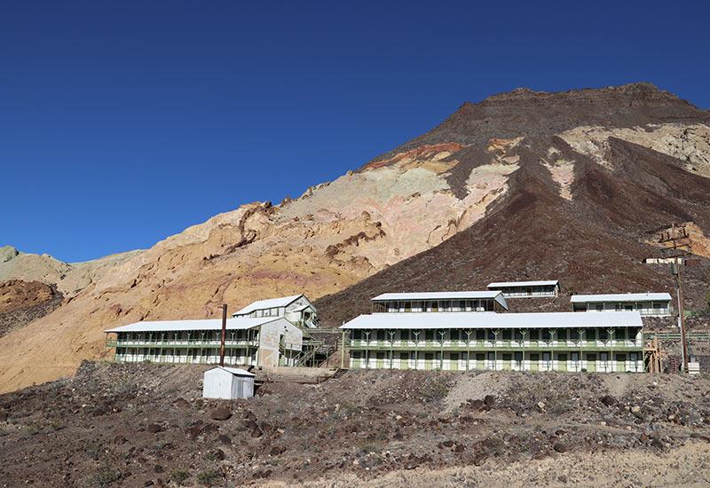 Ryan, a well-preserved borax mining camp.