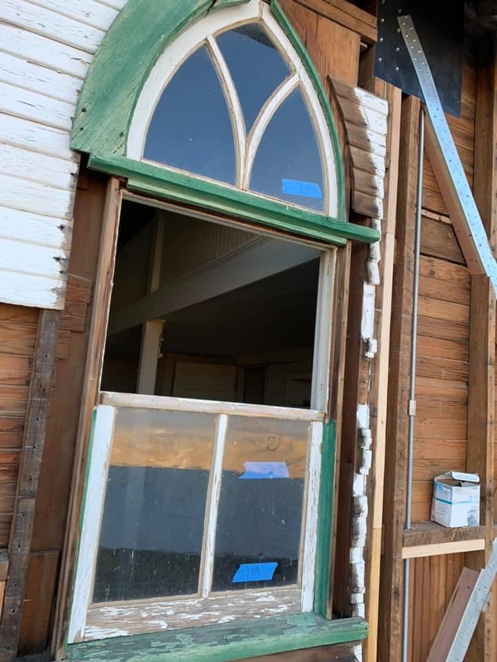Ryan CA Church Rec Hall Phase II Exterior Window