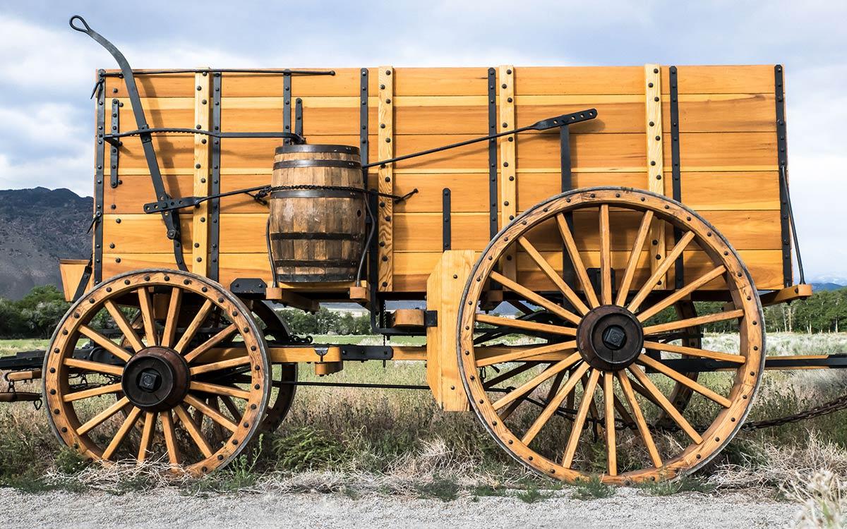 Borax wagon reproduction sideview DVC